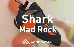 シューズレビュー  マッドロック/シャーク(Mad Rock/Shark)