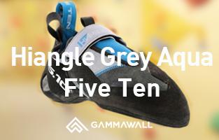 シューズレビュー ファイブテン/ハイアングル(Five Ten / Hiangle Grey Aqua)