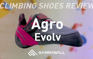 クライミングシューズ・レビュー イボルブ/アグロ(Evolv/Agro)